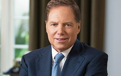 In this June 6, 2017, photo provided by the U.S. Attorney's Office, interim U.S. attorney Geoffrey Berman poses in New York. (Courtesy of U.S. Attorney's Office via AP)