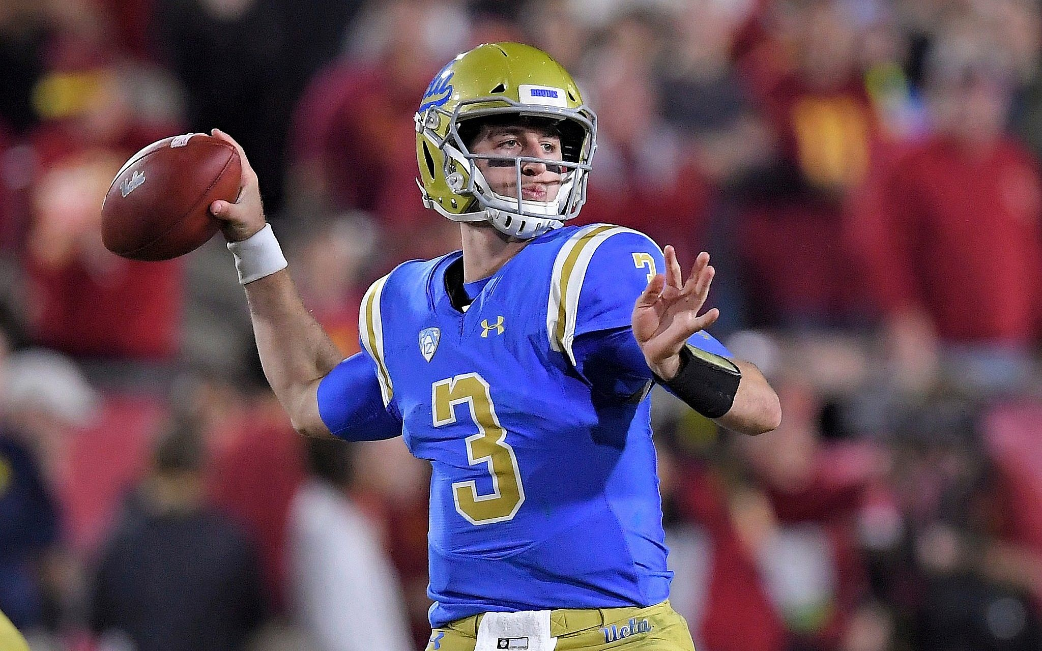 The Cardinals Traded Into The Top 10 To Draft UCLA's Josh Rosen
