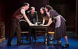 Aaron Galligan-Stierle, Jim Stanek, Megan McGinnis, and Amie Bermowitz in 'Goldstein, the Musical.' (Jeremy Daniel)