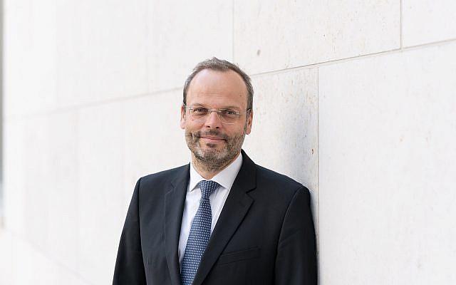 Germany's special envoy on anti-Semitism Felix Klein. (Courtesy German Interior Ministry)