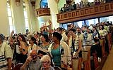 A view of Congregation Kolot Chayeinu in Brooklyn, New York. (Courtesy of Congregation Kolot Chayeinu/via JTA)