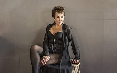 Dorrie Jacobson, 83, models lingerie. (Jodi Jacobson)