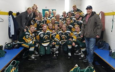 The Humboldt Broncos after a recent victory ( Courtesy/Humboldt Broncos via Twitter)