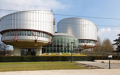 Building of the European Court of Human Rights in in Strasbourg, France seen on March 13, 2012. (CC BY-SA Wikimedia commons)