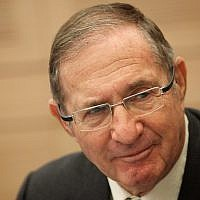 Israeli businessman Dan Propper attends a session of the Knesset's Finance Committee on December 25, 2012. (Miriam Alster/Flash90)