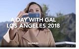 Screen capture from a promotional video by Gal Gadot for the Huawei Mate 10 cellphone. (Twitter)