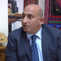 Beit Jala Mayor Nicola Khamis. (Screen capture: YouTube)