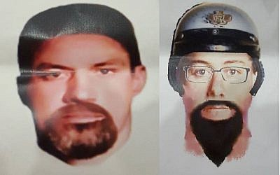 Facial composites issued by Royal Malaysia Police of two suspects in the gunning down of a Hamas rocket expert in Kuala Lumpur, Malaysia, April 23, 2018. (Royal Malaysia Police)