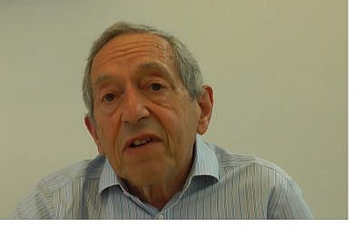Screen capture from video of social scientist Mayer Hillman. (YouTube)
