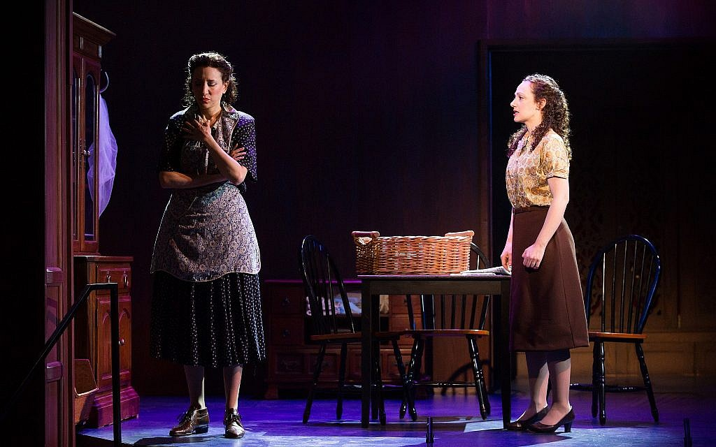 Megan McGinnis and Amie Bermowitz in 'Goldstein, the Musical.' (Jeremy Daniel)