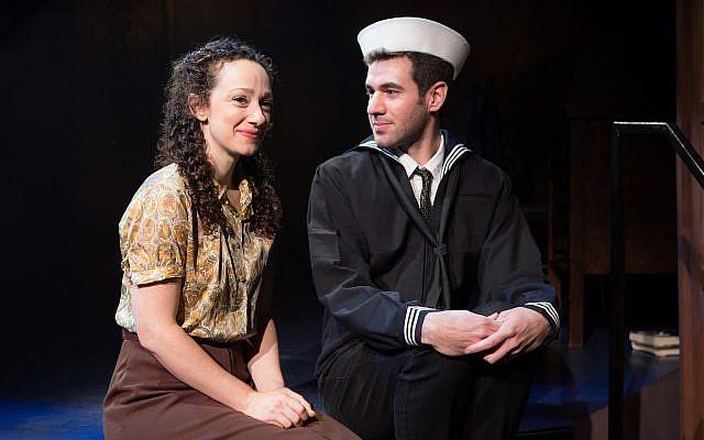 Megan McGinnis and Zal Owen in 'Goldstein, the Musical.' (Jeremy Daniel)