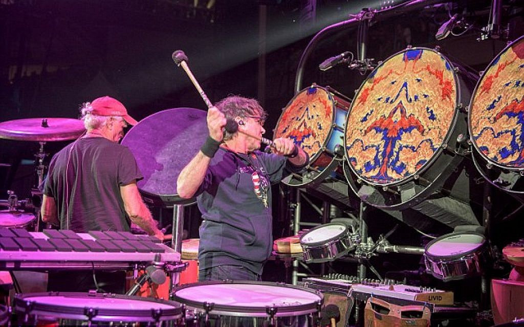 Grammy Award-winning Grateful Dead percussionist Mickey Hart. (©Jay Blakesberg)