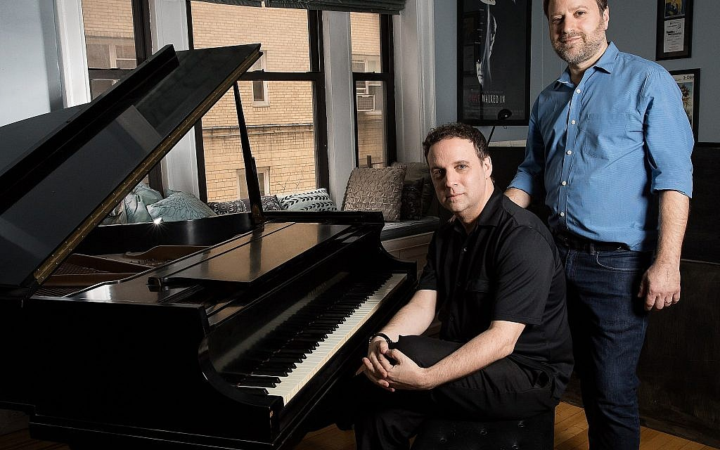 Charlie Shulman, right, and Michael Roberts, of 'Goldstein, the Musical.' (Charles Chessler)