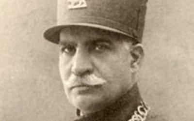 Formal portrait of Reza Shah. (Public domain/Wikimedia Commons)