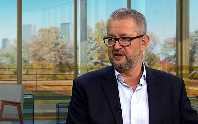Rafał Ziemkiewicz is interviewed on March 23, 1018. (Screen capture/YouTube)