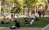Illustrative photo of students on the Temple University campus in Philadelphia, Tuesday, Oct. 10, 2017. (AP Photo/Matt Rourke)