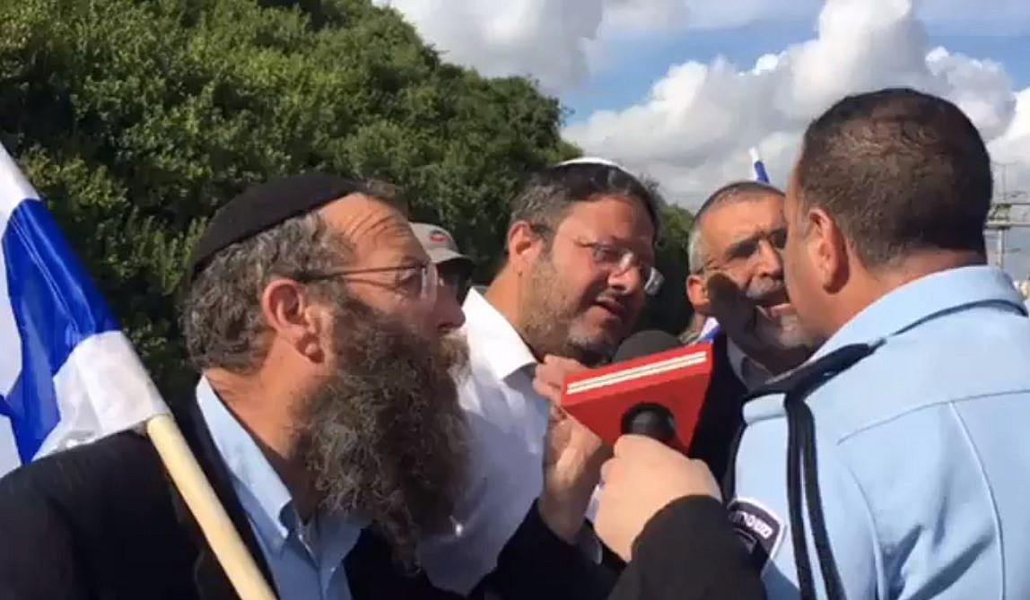 Partido acusado de racismo pode chegar ao Knesset