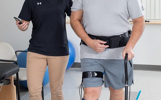 Israel's ReWalk seeks FDA nod for robotic suit to help rehab stroke