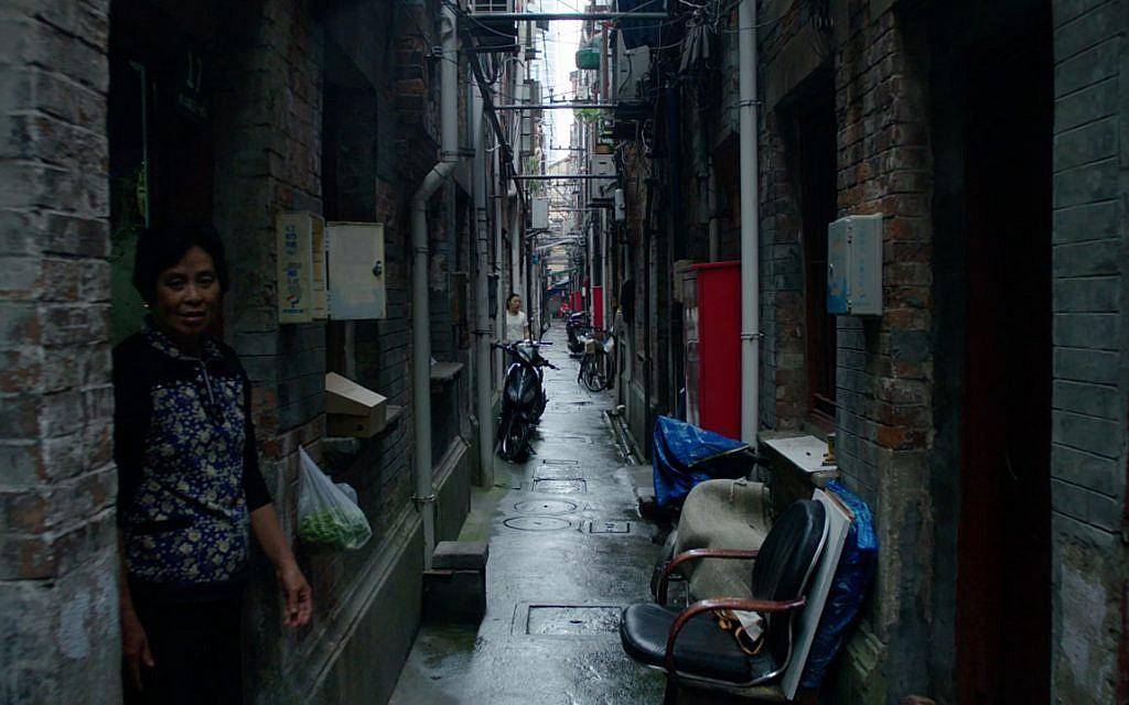 The Hongkou district of Shanghai, where the Jews were ghettoized during World War II. (Courtesy Above the Drowning Sea/ Time & Rhythm Cinema)