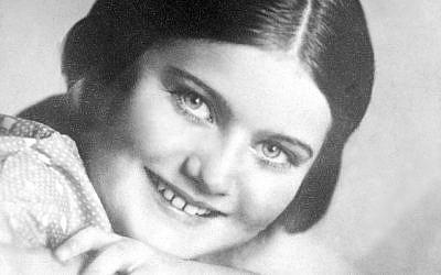 The diarist Renia Spiegel, born in 1924 and murdered by the Nazis in 1942 (Renia Spiegel Foundation)
