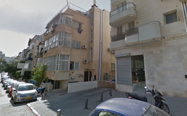 External view of Bnei Tzion pre-military academy in Tel Aviv. (Screen capture: Google Maps)