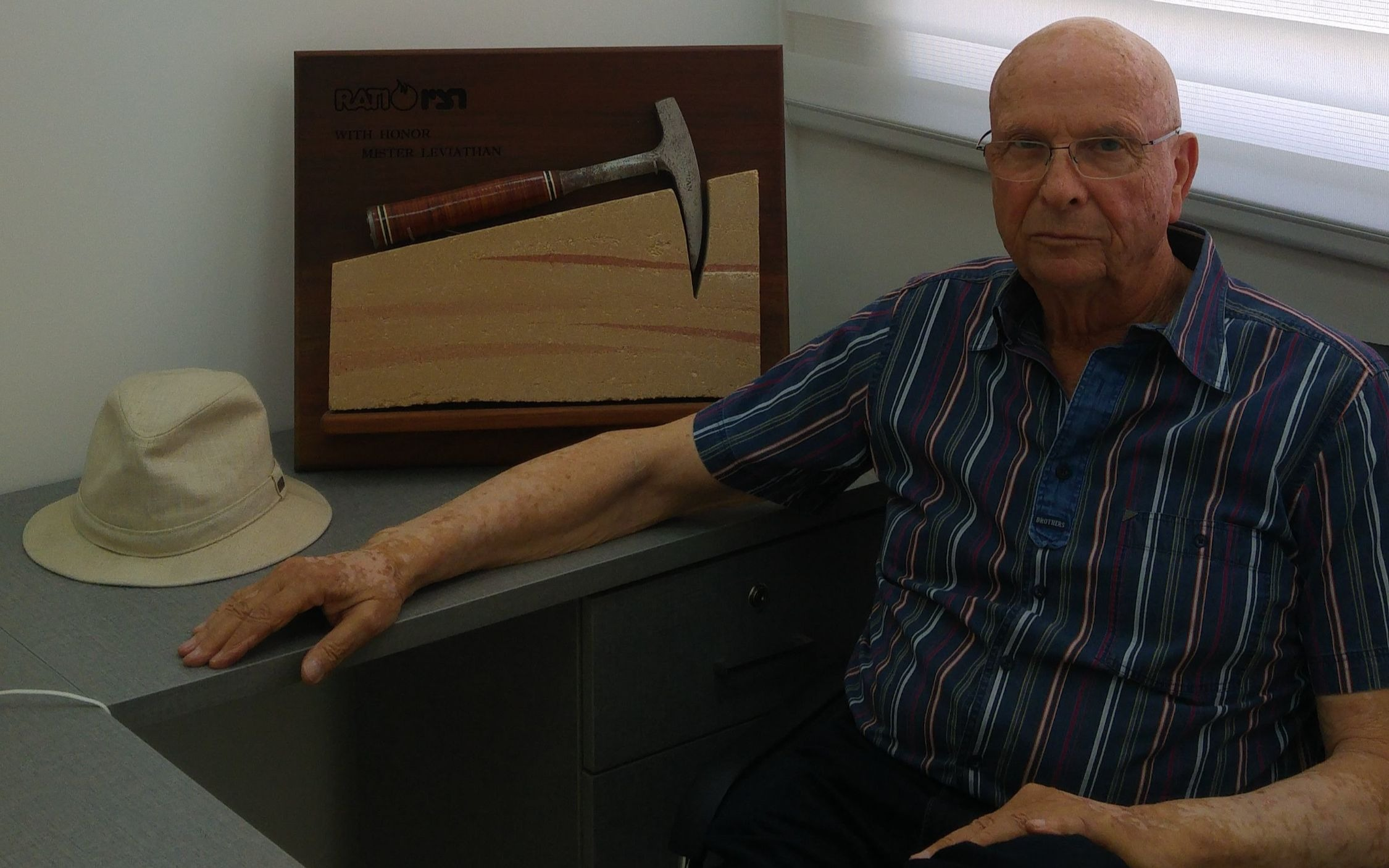 Octogenarian geologist behind Israel's giant gas field eyes foreign