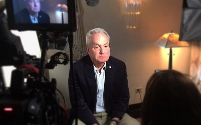 'Saturday Night Live' producer Lorne Michaels in 'Love, Gilda.' (Courtesy)
