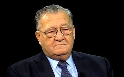 Rabbi Rafael Grossman (screen capture: YouTube)