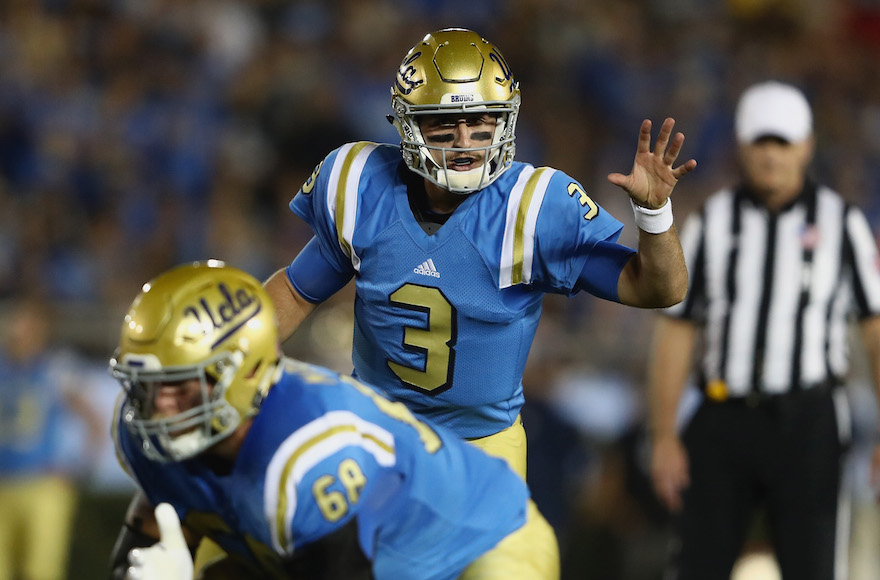 Josh Rosen: I'm the best QB in the draft, others are 'flashier'