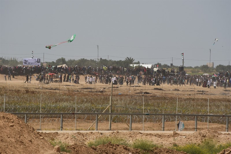 One Dead, Hundreds Injured in Latest Hamas-Led Gaza Riots