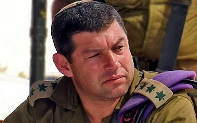 Former Givati Brigade commander and Bnei David pre-military academy alum Ofer Winter. (Alon Besen/Defense Ministry)