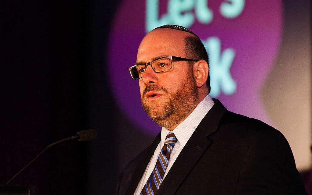 Rabbi Steven Wernick is stepping down from his position as CEO of the United Synagogue of Conservative Judaism. (Mike Diamond Photography/via JTA)