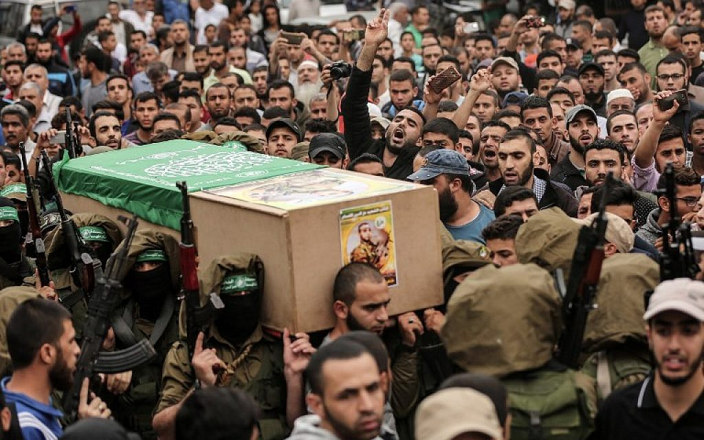 Hamas official: 50 of the people killed in Gaza riots were members