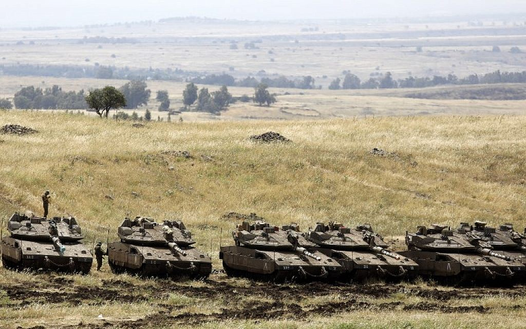 U.S.  to oppose United Nations  motion condemning Israeli control of Golan Heights