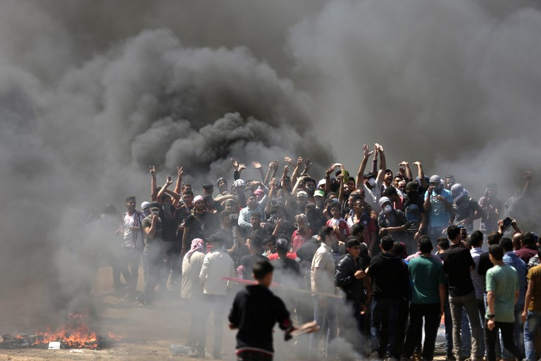 More than 50 dead in clashes as USA  opens Jerusalem embassy