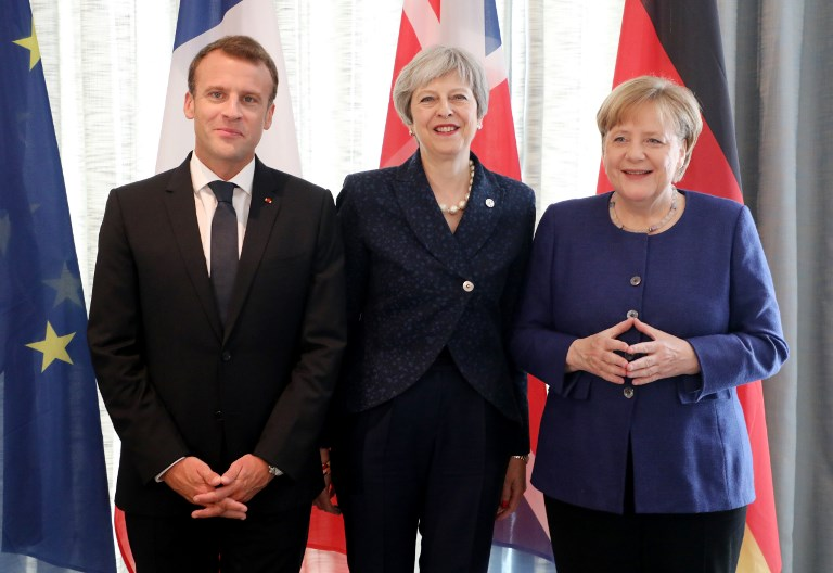 Image result for may macron merkel