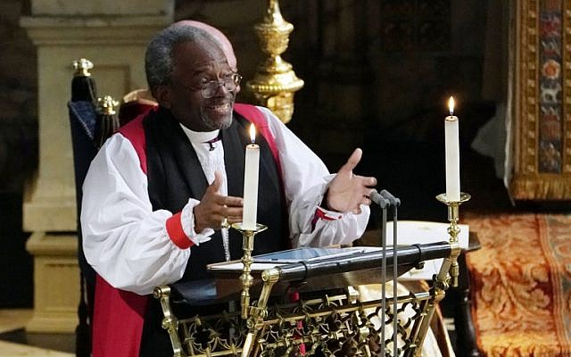Royal Wedding Time In Us.African American Pastor Fires Up Royal Wedding With Love Sermon