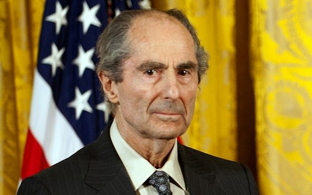 This file photo taken on March 2, 2011 shows US novelist Philip Roth during a ceremony at the White House in Washington DC, where he received the National Humanities Medal.      (AFP PHOTO / Jim WATSON)