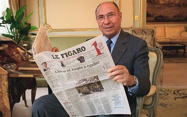 French industrialist Serge Dassault dies at 93