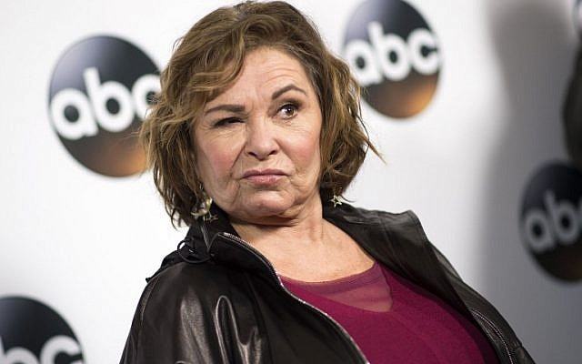 In this photo taken on January 8, 2018, actress Roseanne Barr attends the Disney ABC Television TCA Winter Press Tour in Pasadena, California. (AFP PHOTO / VALERIE MACON)