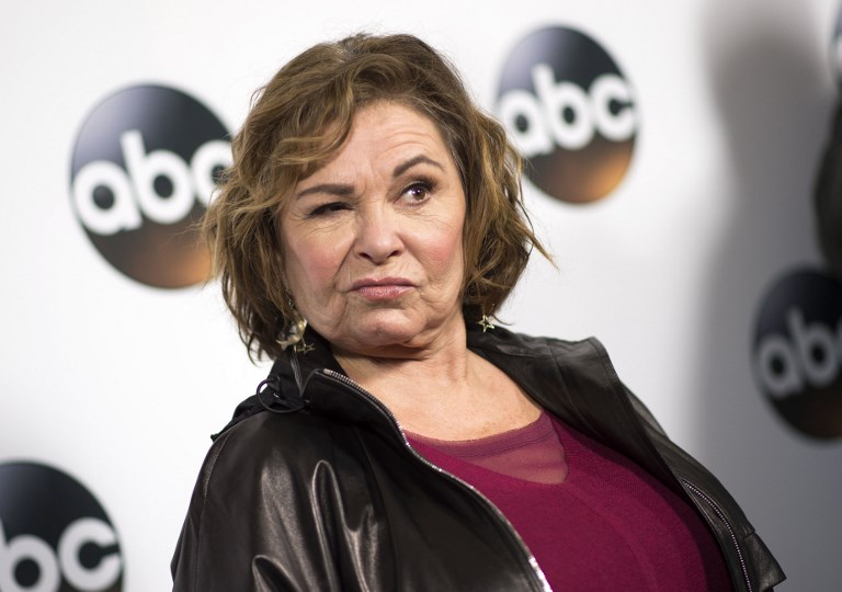 In This Photo Taken On January 8 2018 Actress Roseanne Barr Attends The Disney
