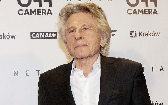 Director Roman Polanski appears at an international film festival, where he promoted his latest film, 'Based on a True Story,' in Krakow, Poland, May 2, 2018. (AP Photo)
