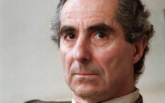 In this March 22, 1993 file photo, American author Philip Roth is seen during an interview promoting his book 'Operation Shylock: A Confession,' in New York (AP Photo, File)