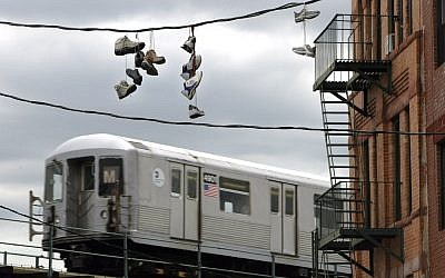 Illustrative picture of subway in Ridgewood neighborhood of Queens, N.Y., July 6, 2004. (AP Photo/Bebeto Matthews)