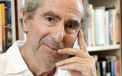 In this September 8, 2008, file photo, author Philip Roth poses for a photo in the offices of his publisher, Houghton Mifflin, in New York, US. (AP Photo/Richard Drew, File)