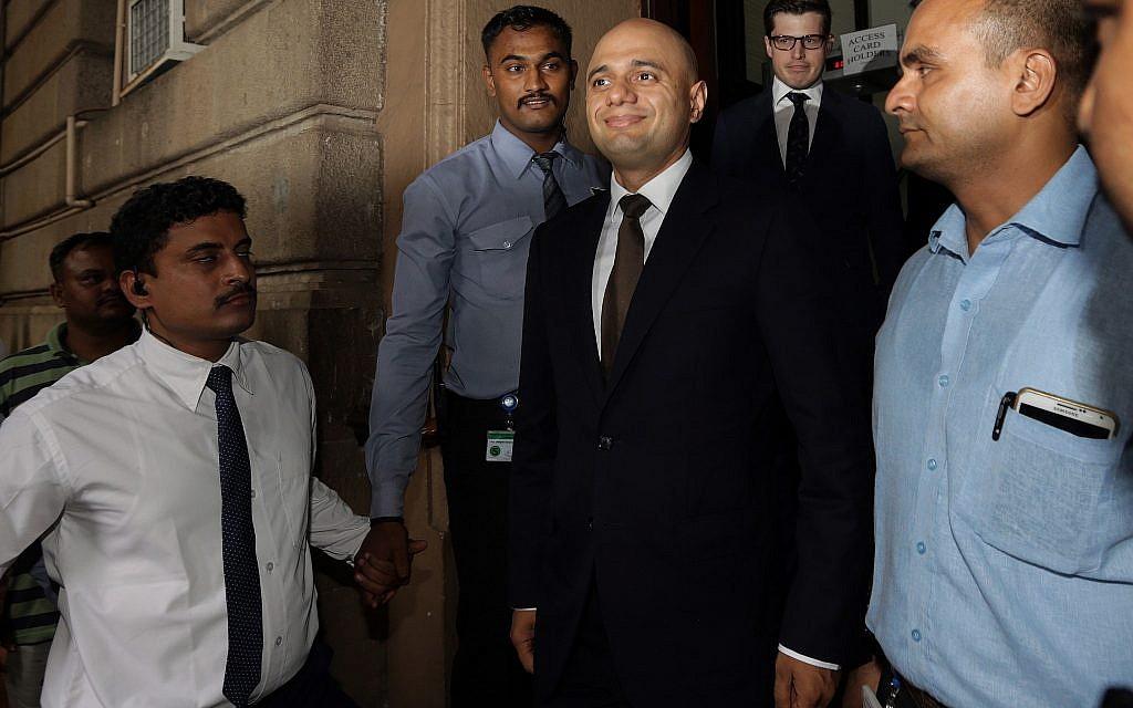 Meet Sajid Javid, UK's top Muslim, pro-Israel politician