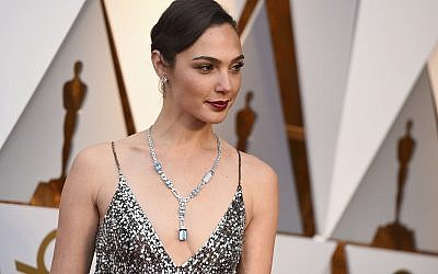 Gal Gadot at the Oscars on March 4, 2018, at the Dolby Theatre in Los Angeles. (Jordan Strauss/Invision/AP)