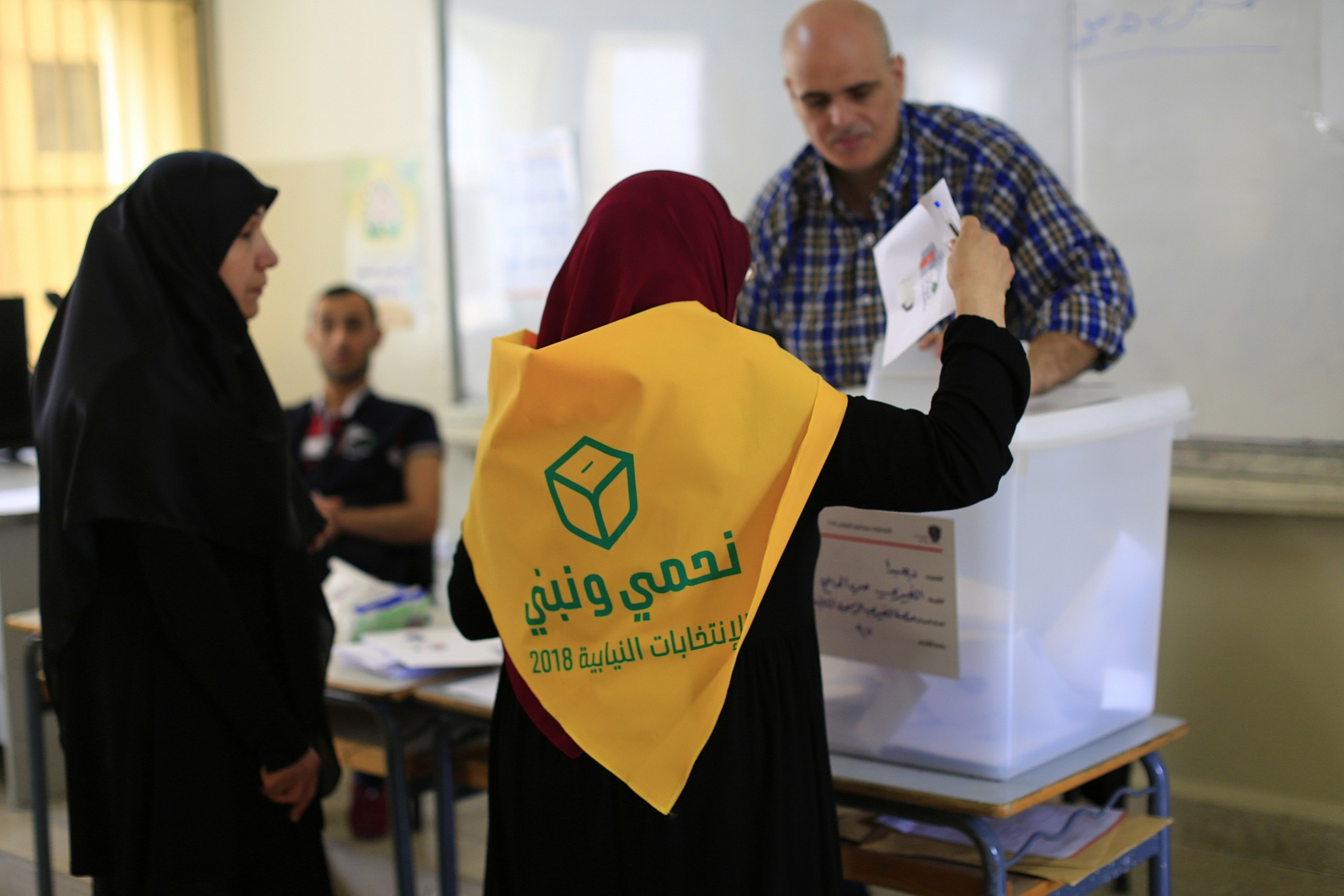 Lebanese line up for vote billed as Riyadh-Tehran battle | The Times of Israel