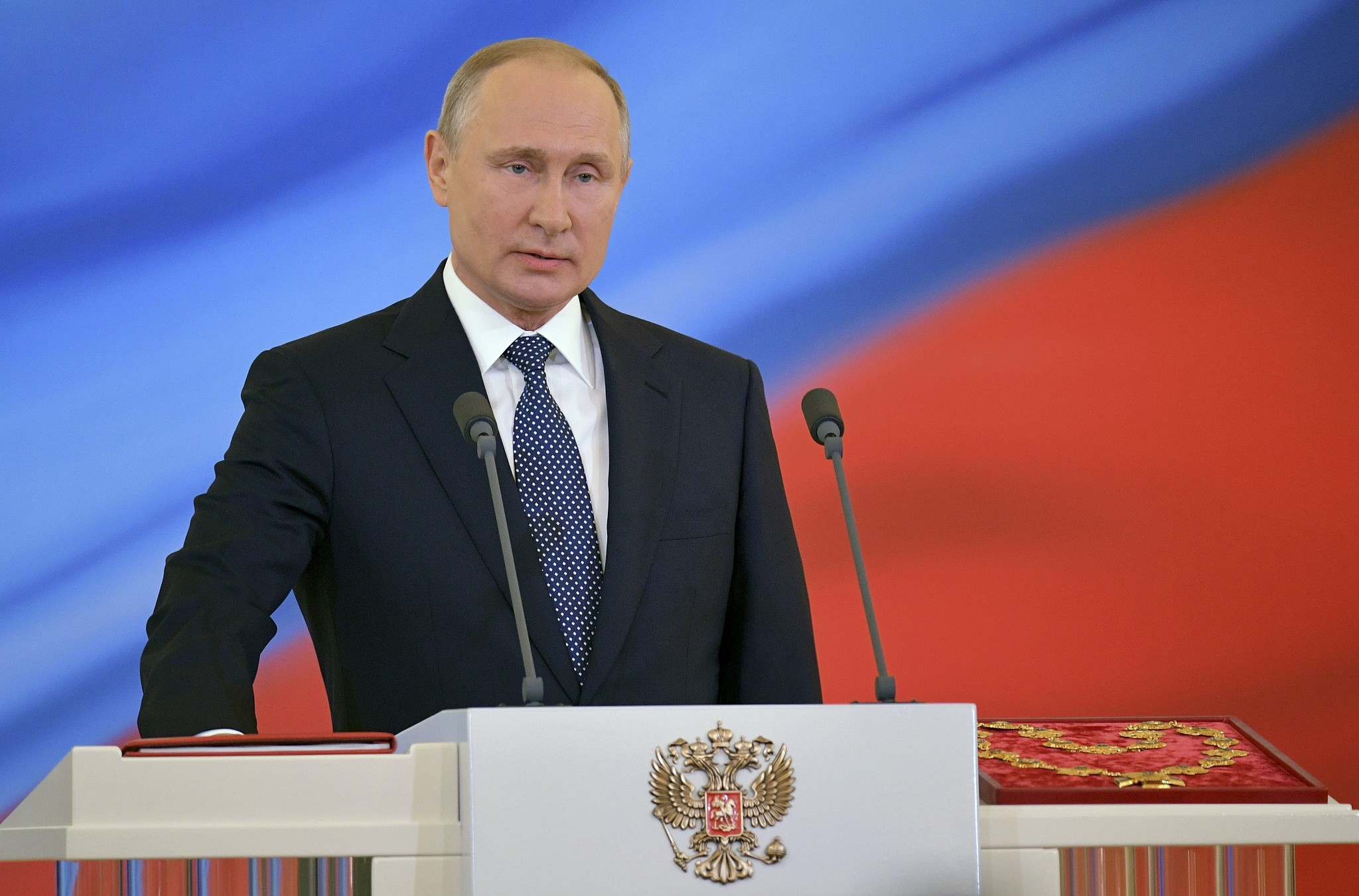 Putin Sworn In For Fourth Term As Russian President The Times Of Israel