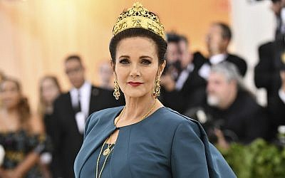 Lynda Carter at The Metropolitan Museum of Art's Costume Institute benefit gala, May 7, 2018, in New York. (Charles Sykes/Invision/AP)